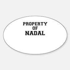 Property of NADAL Decal