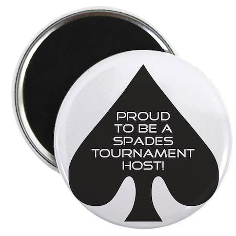 Spades Tournament Host Magnet