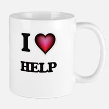 I love Help Mugs