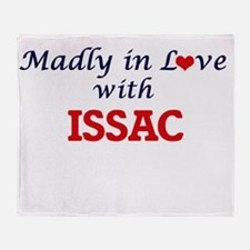 Madly in love with Issac Throw Blanket