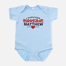 Hurricane Matthew Survivor October 2016 Body Suit
