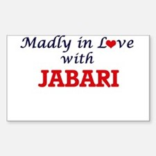 Madly in love with Jabari Decal