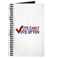 Vote Early Vote Often Journal