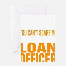 Cute Loan officer Greeting Card