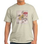 1927 Christmas Kitten 1 Light T-Shirt