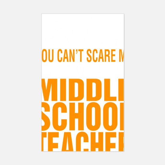 Unique You cant a teacher Sticker (Rectangle)
