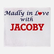 Madly in love with Jacoby Throw Blanket