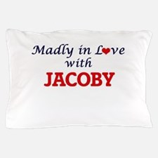 Madly in love with Jacoby Pillow Case