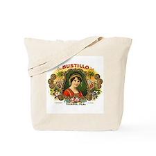 Bustillo Tampa Vintage Cigar  Tote Bag