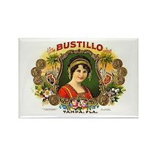 Bustillo Tampa Vintage Cigar Rectangle Magnet