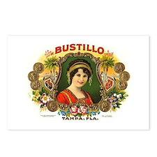 Bustillo Tampa Vintage Cigar  Postcards (Package o