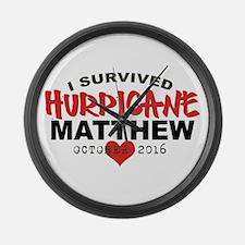 Hurricane Matthew Survivor October 2016 Large Wall