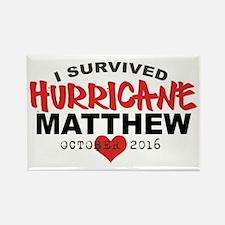 Hurricane Matthew Survivor October 2016 Magnets