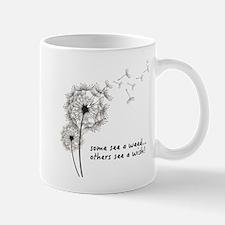 Dandelion seed wish Mugs