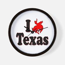 I Rodeo Texas! Wall Clock