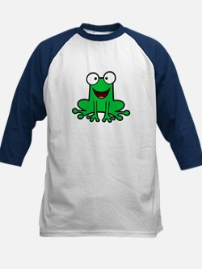 Happy Frog Kids Baseball Jersey