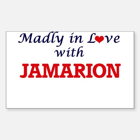 Madly in love with Jamarion Decal