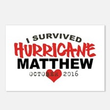 Hurricane Matthew Survivor October 2016 Postcards