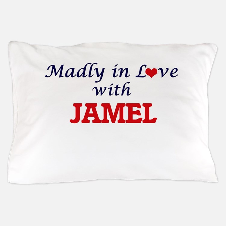 Madly in love with Jamel Pillow Case