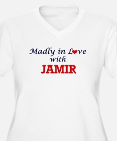 Madly in love with Jamir Plus Size T-Shirt