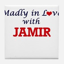 Madly in love with Jamir Tile Coaster