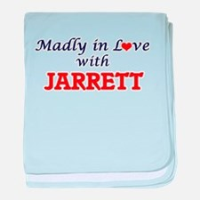 Madly in love with Jarrett baby blanket