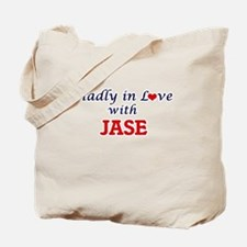 Madly in love with Jase Tote Bag