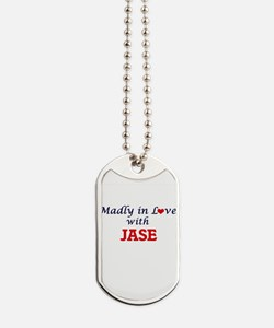 Madly in love with Jase Dog Tags