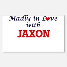 Madly in love with Jaxon Decal