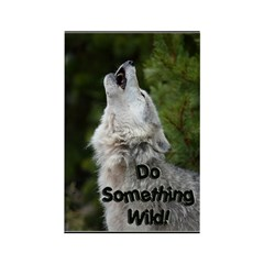 Do Something Wild Rectangle Magnet (10 pack)