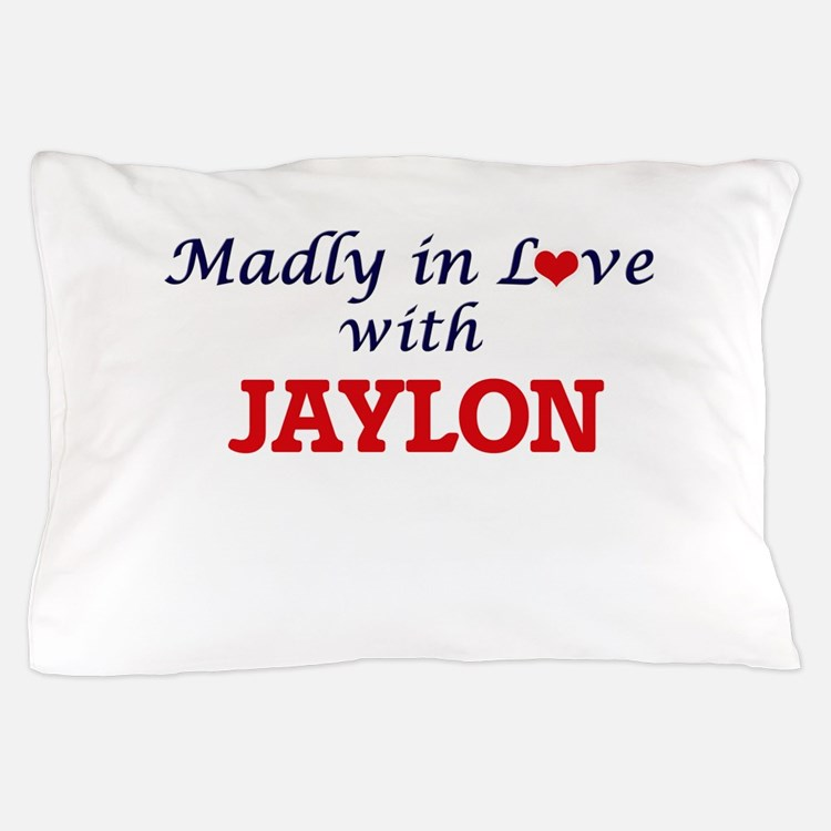 Madly in love with Jaylon Pillow Case