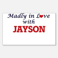 Madly in love with Jayson Decal