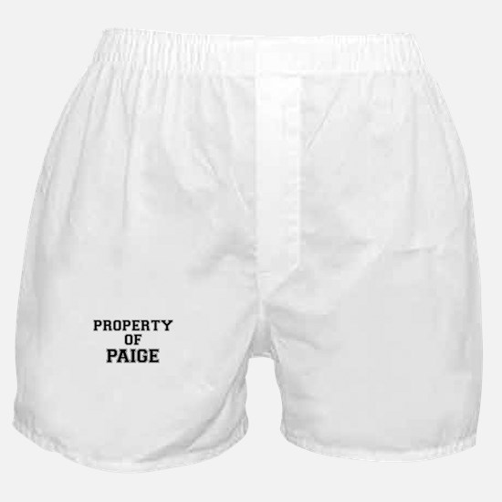 Property of PAIGE Boxer Shorts