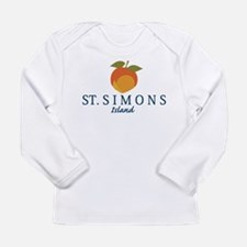 St. Simons Island - Georgia. Long Sleeve T-Shirt
