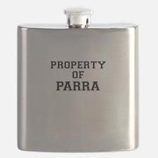 Property of PARRA Flask