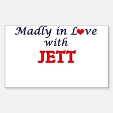 Madly in love with Jett Decal
