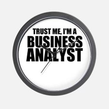 Trust Me, I'm A Business Analyst Wall Clock