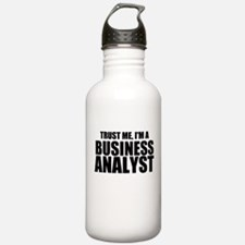 Trust Me, I'm A Business Analyst Water Bottle