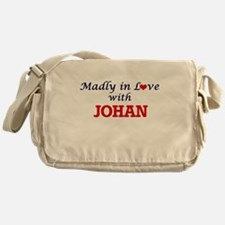 Madly in love with Johan Messenger Bag