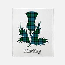 Thistle - MacKay Throw Blanket
