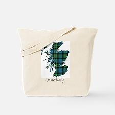 Map - MacKay Tote Bag
