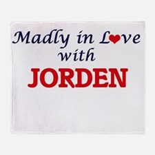 Madly in love with Jorden Throw Blanket