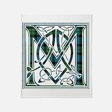 Monogram - MacKay Throw Blanket