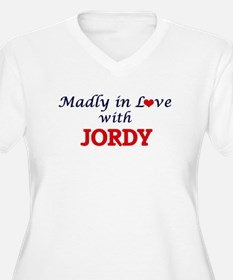 Madly in love with Jordy Plus Size T-Shirt