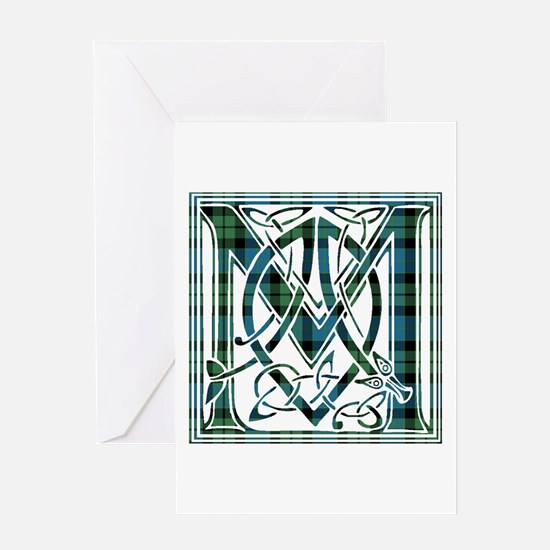 Monogram - MacKay Greeting Card
