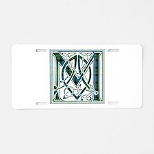 Monogram - MacKay Aluminum License Plate