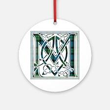 Monogram - MacKay Ornament (Round)