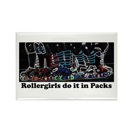 Derby Pack Neon Rectangle Magnet