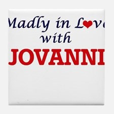 Madly in love with Jovanni Tile Coaster