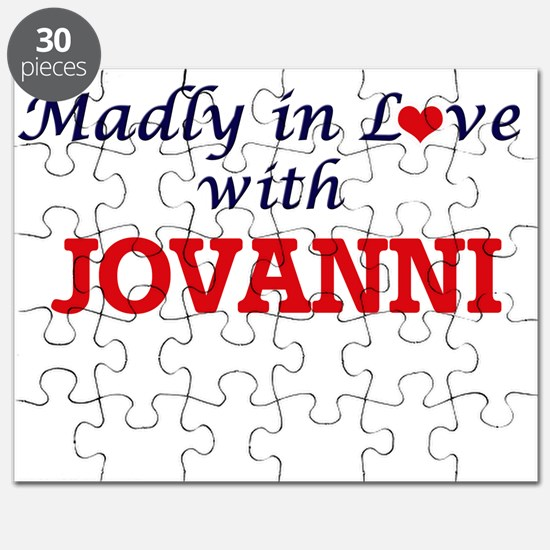 Madly in love with Jovanni Puzzle